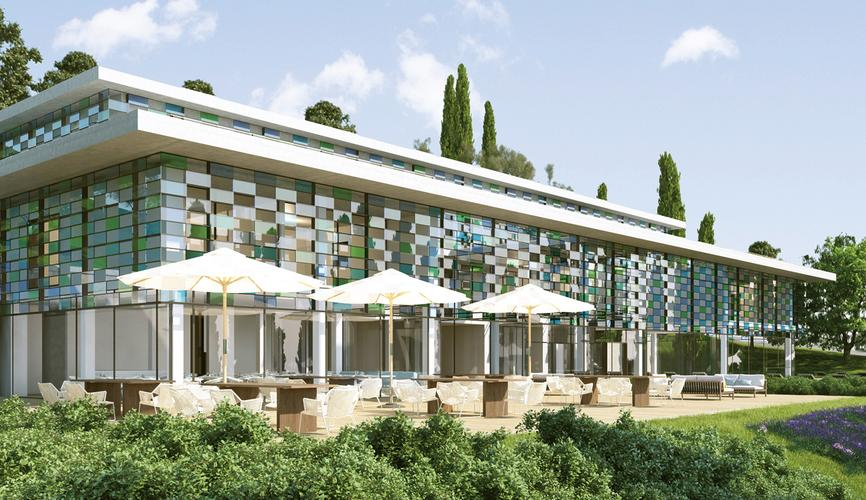 Club House, Gardone Resort, Gardone Riviera (IT), 2012–13