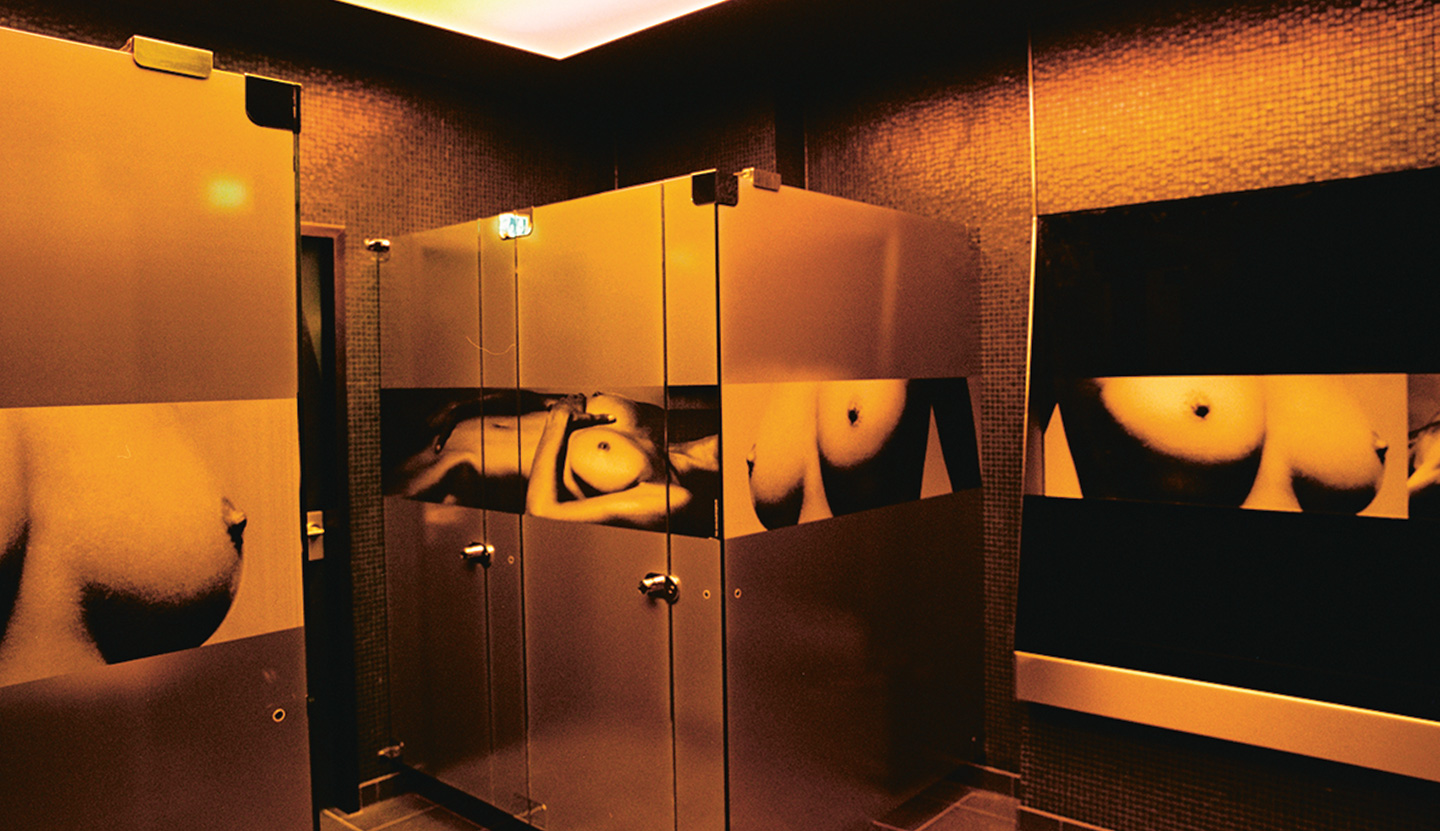 image gallery nightclub bathroom