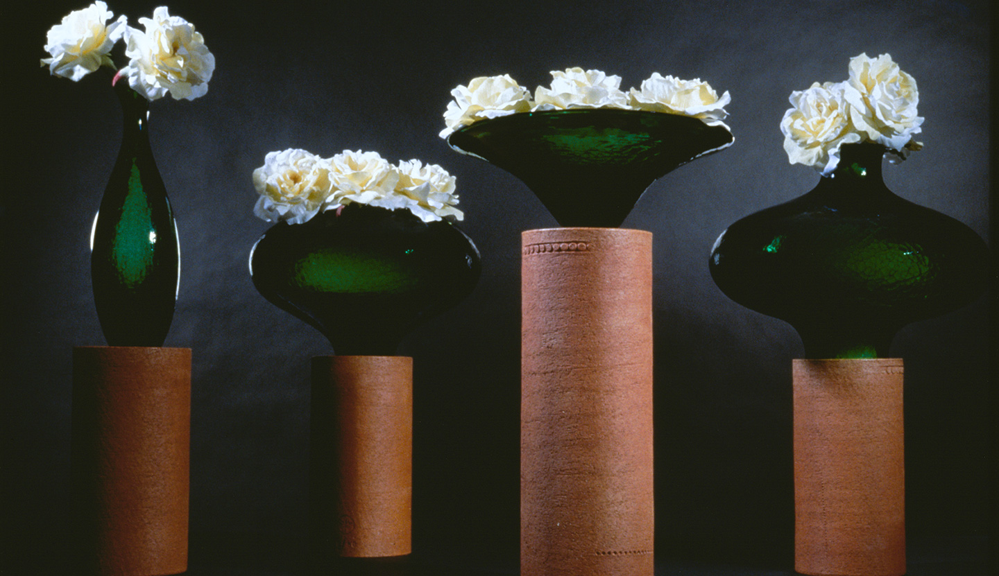 Terre Cotte vases for Bitossi, 1992