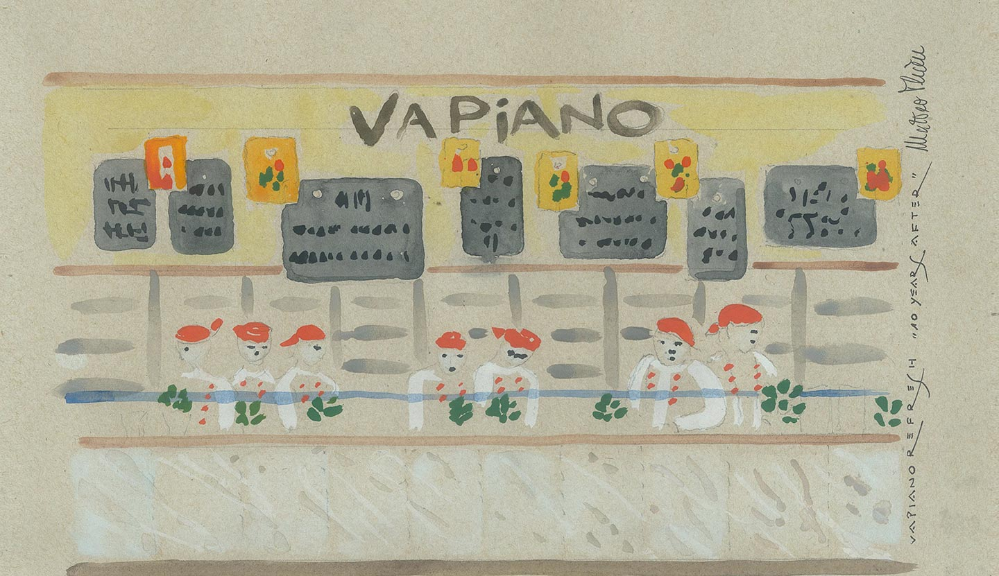 Watercolor for Vapiano Refresh