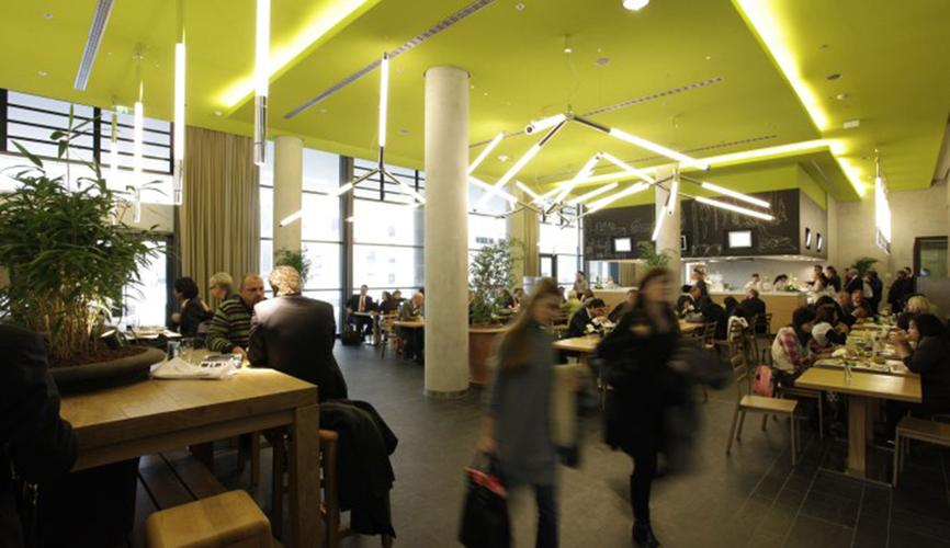 matteo thun partners interior messe frankfurt halle 11. Black Bedroom Furniture Sets. Home Design Ideas