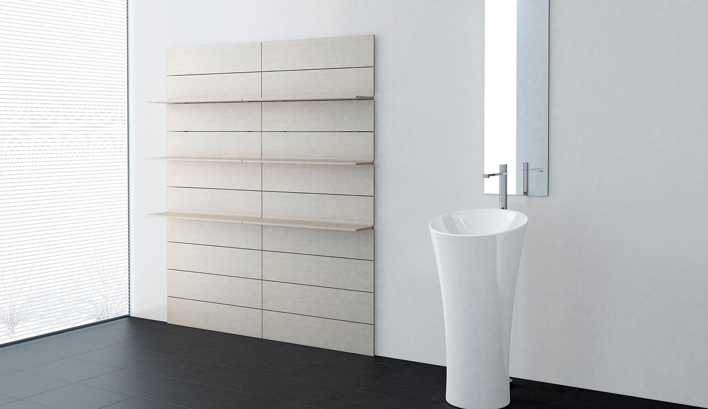 Senso, Bathroom accessories for Iradium, 2010