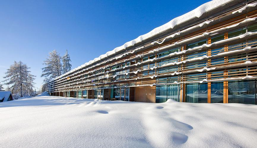 Vigilius Mountain Resort, Lana, Meran (IT), 2001–03
