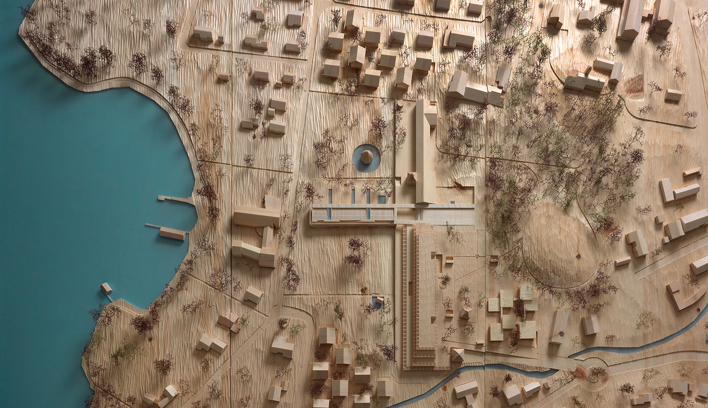 Model for Bad Wiessee Master Plan, 2012