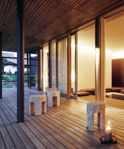 Matteo thun partners interior pergola residence for Design hotel meran