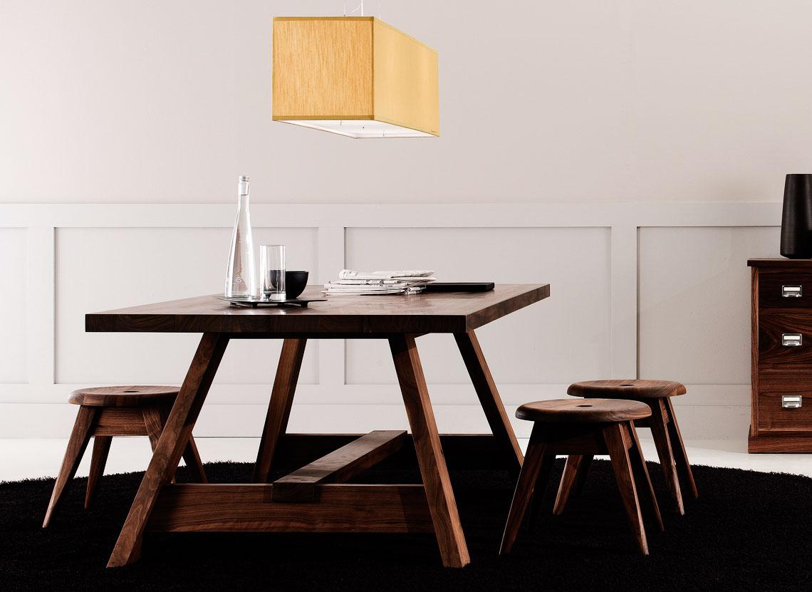 Matteo thun partners product riva 1920 brenta table for Table riva but