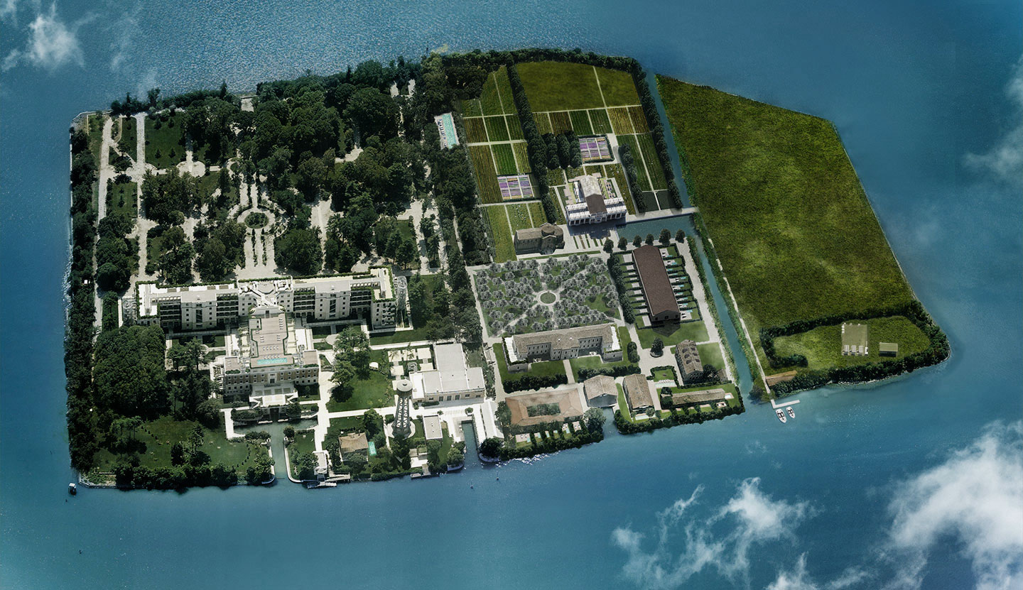 Rose Island Resort, Venetian lagoon (IT), 2011–14