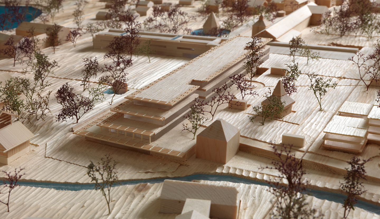 Model Detail, Bad Wiessee Master Plan, 2012
