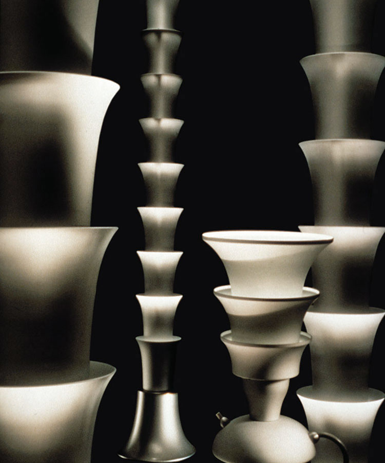 Hollywood, lamp collection for Tronconi, 1989