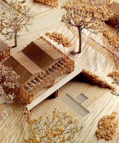Architectural model of The Botanical Village Golf Resort, Portugal, 2012–14