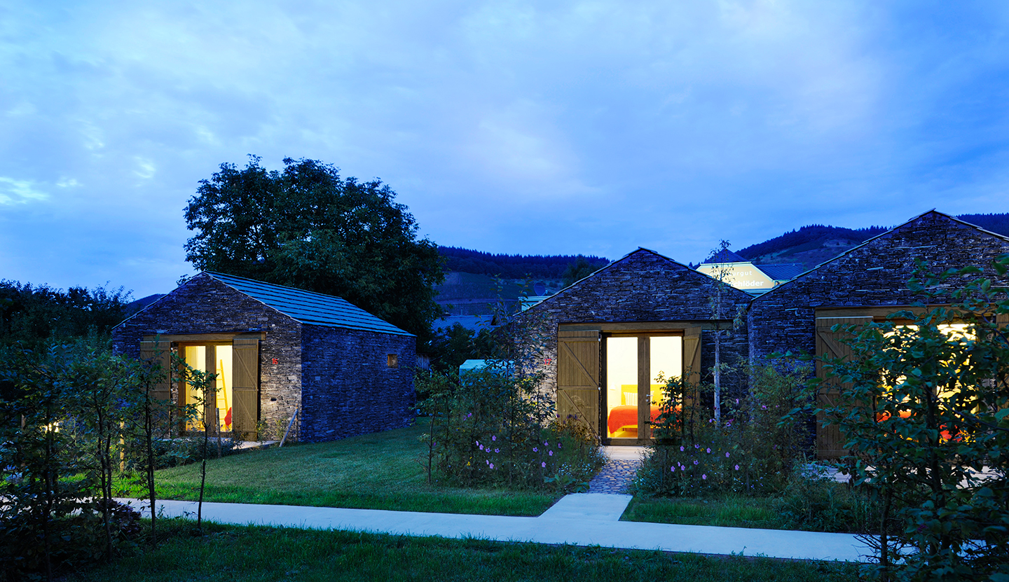 Longen Winery and Guest House, Longuich, Mosel (DE), 2011-12