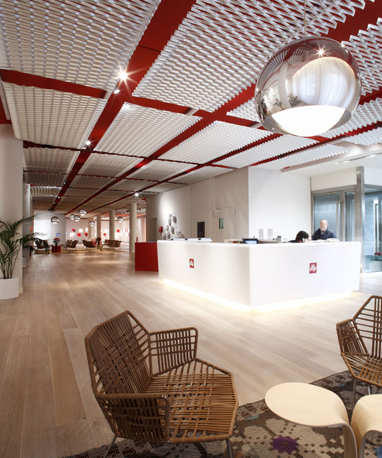 Illy Headquarter entrance area, Trieste (IT)