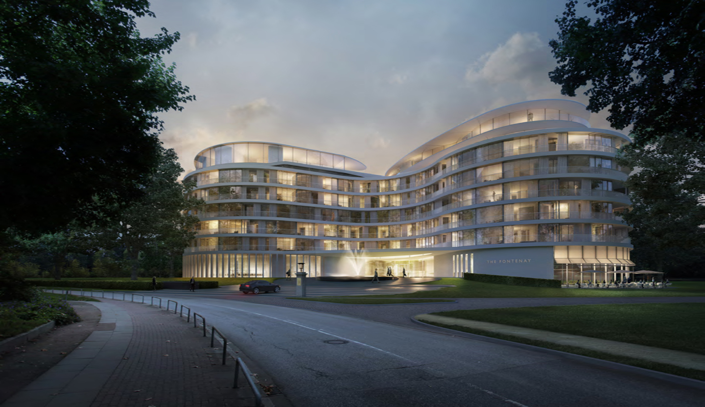 Matteo thun partners interior the fontenay luxury hotel for Matteo thun hotel