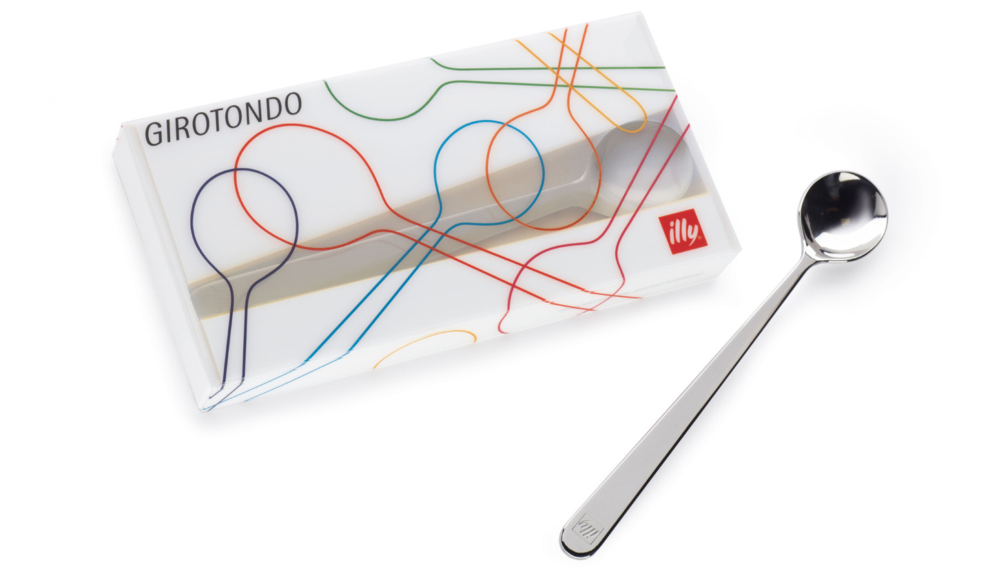 illy bar accessories 2013, Girotondo long spoon