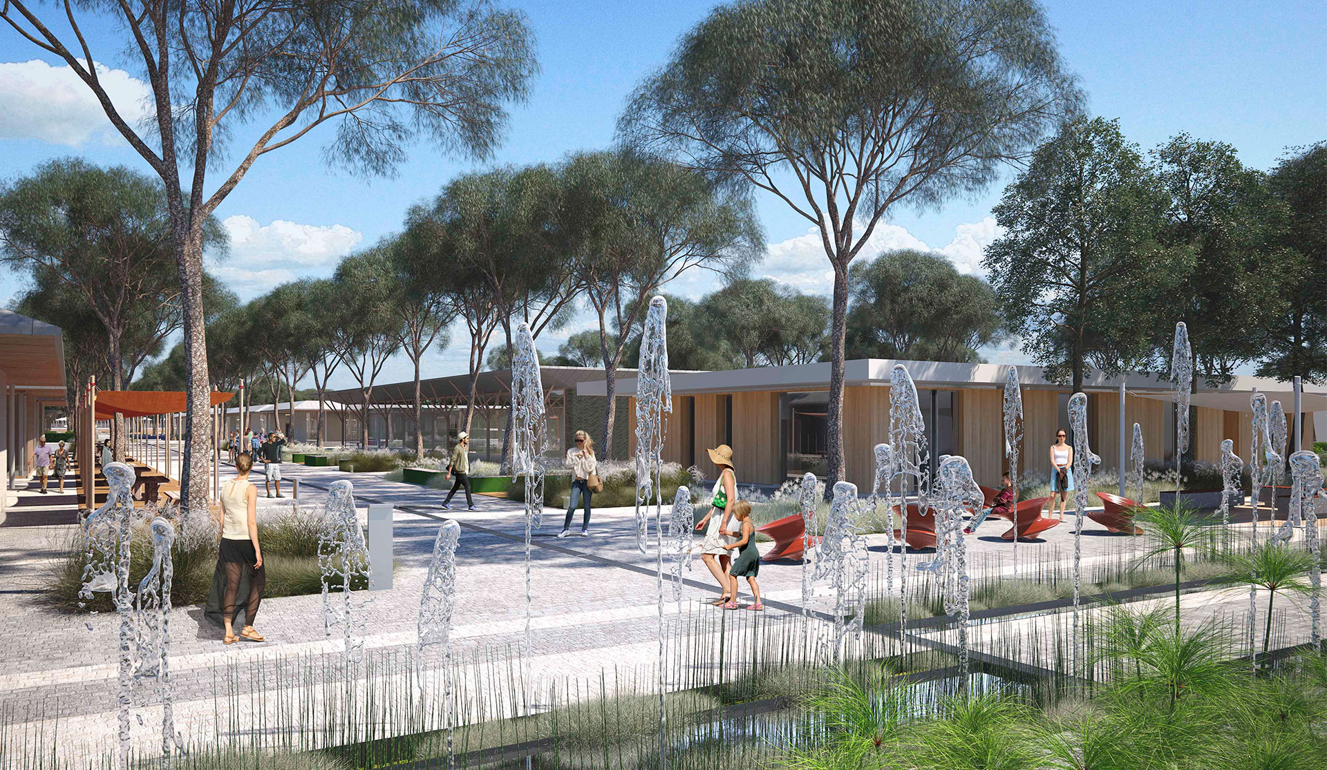 <p>The new covered market of Camping Marina di Venezia</p>