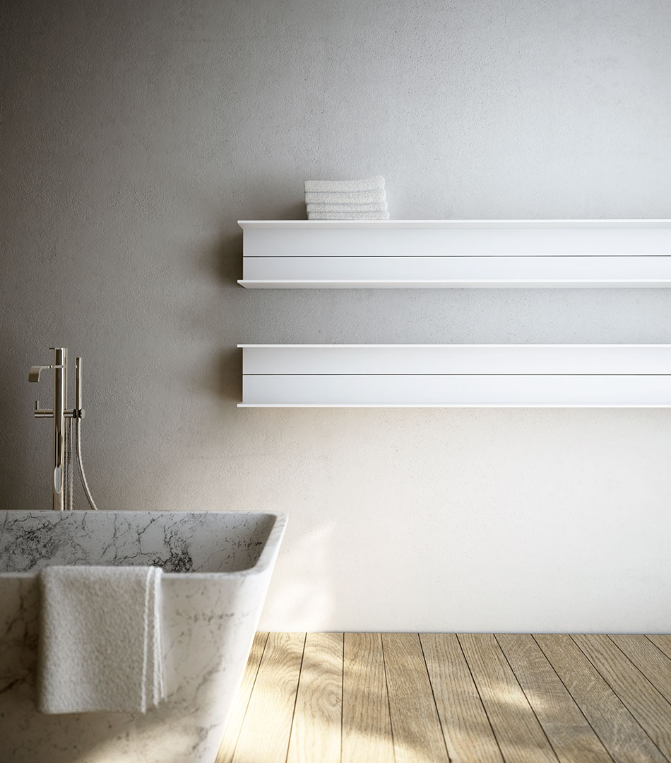 Serie T, bathroom accessories for Antrax, 2012