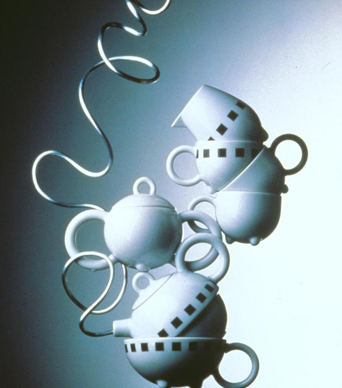 Tète a tète, carrè noir, tableware collection for Arzberg, 1988