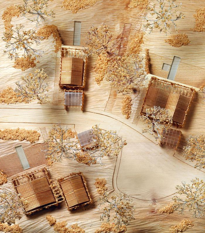 Architectural model of The Botanical Village Golf Resort - Portugal (PT)