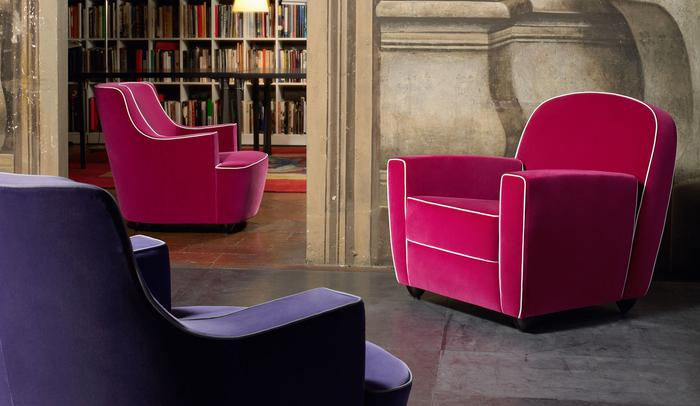 San Marco and Vigilius upholstered furniture