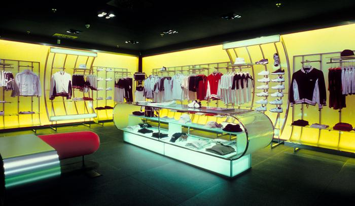 Fila Shop, Milano (IT) 2000-02