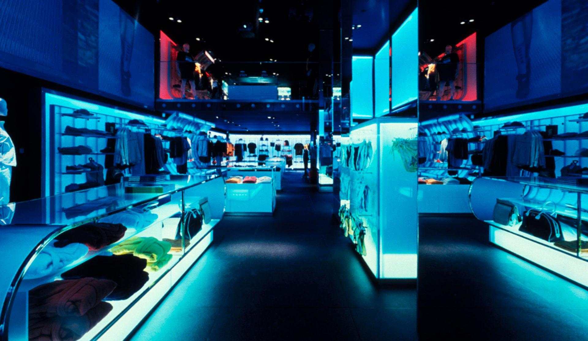 Flagship store, Fila | Matteo Thun & Partners