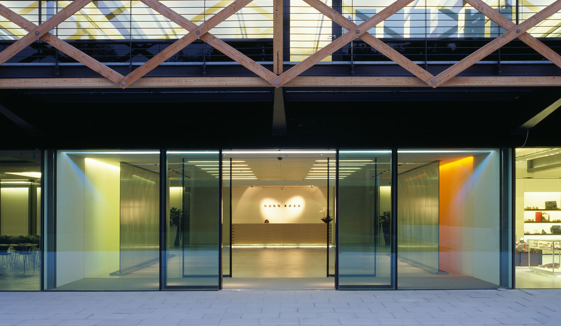 Headquarters, Hugo Boss - Coldrerio (CH)