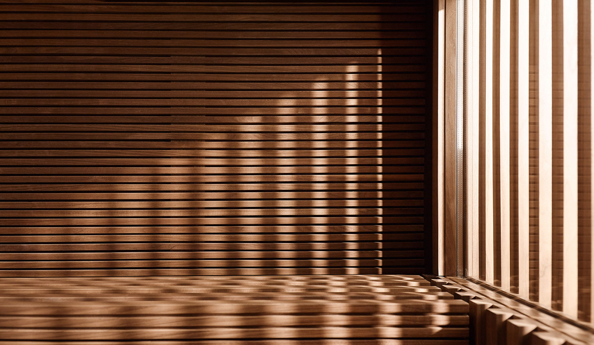 Klafs sauna designed by Matteo Thun and Antonio Rodriguez