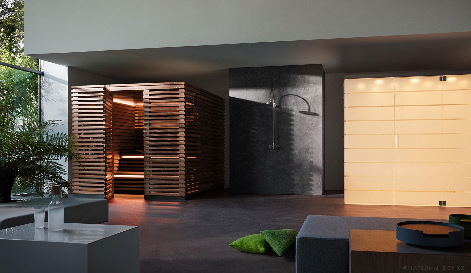 sauna for klafs matteo thun partners. Black Bedroom Furniture Sets. Home Design Ideas