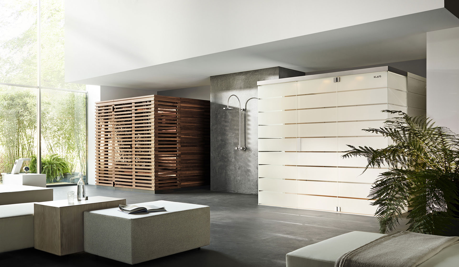 Klafs sauna and steam bath by Matteo Thun and Antonio Rodriguez