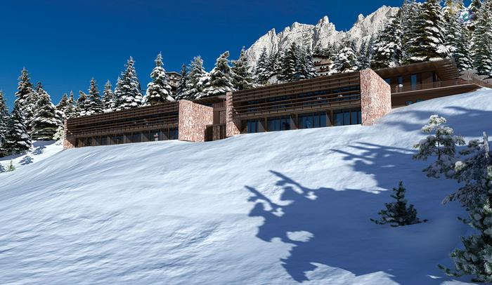 La Vera Hotel, Cortina (IT), 2009 (unbuilt)