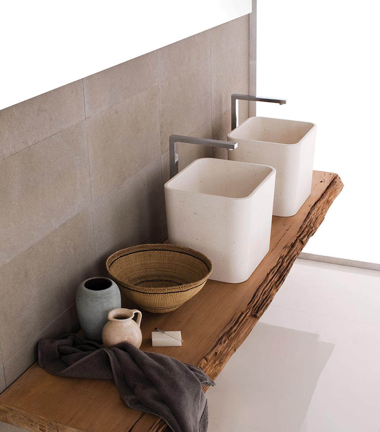 Duo sanitary ware for Neutra, 2009