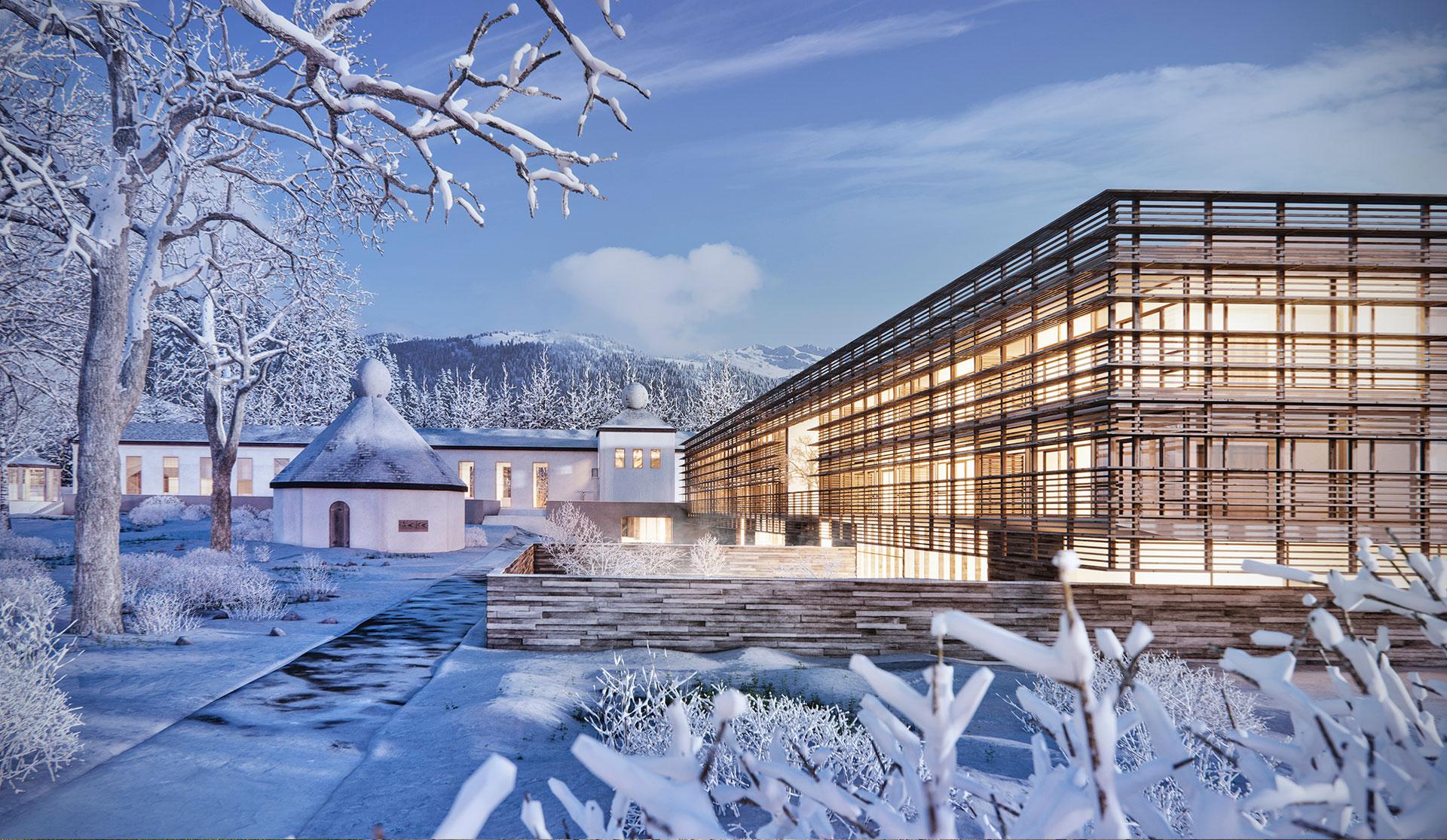 bavarian lake village matteo thun partners. Black Bedroom Furniture Sets. Home Design Ideas