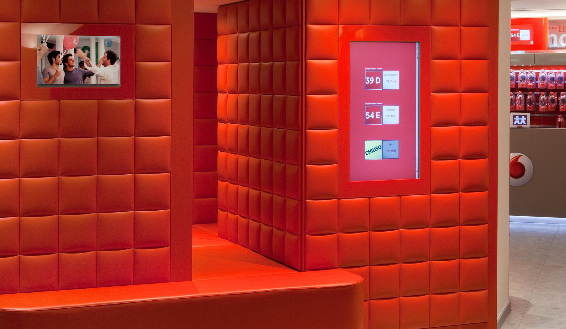 Retail System Vodafone Matteo Thun Partners