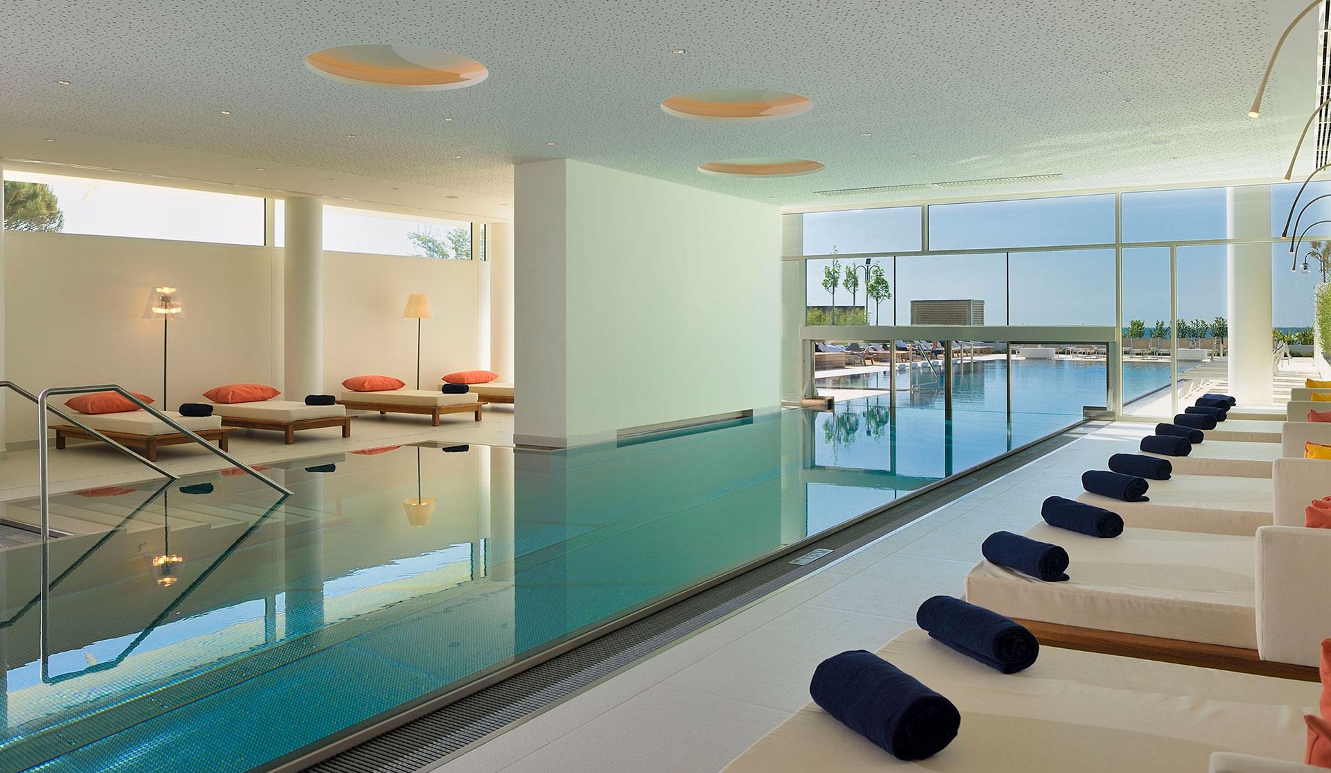 hotel spa interior falkensteiner matteo thun partners. Black Bedroom Furniture Sets. Home Design Ideas