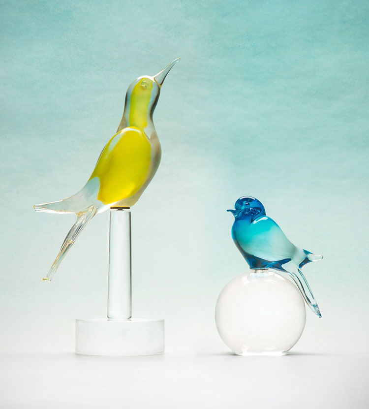 Birds collection, for Matteo Thun Atelier