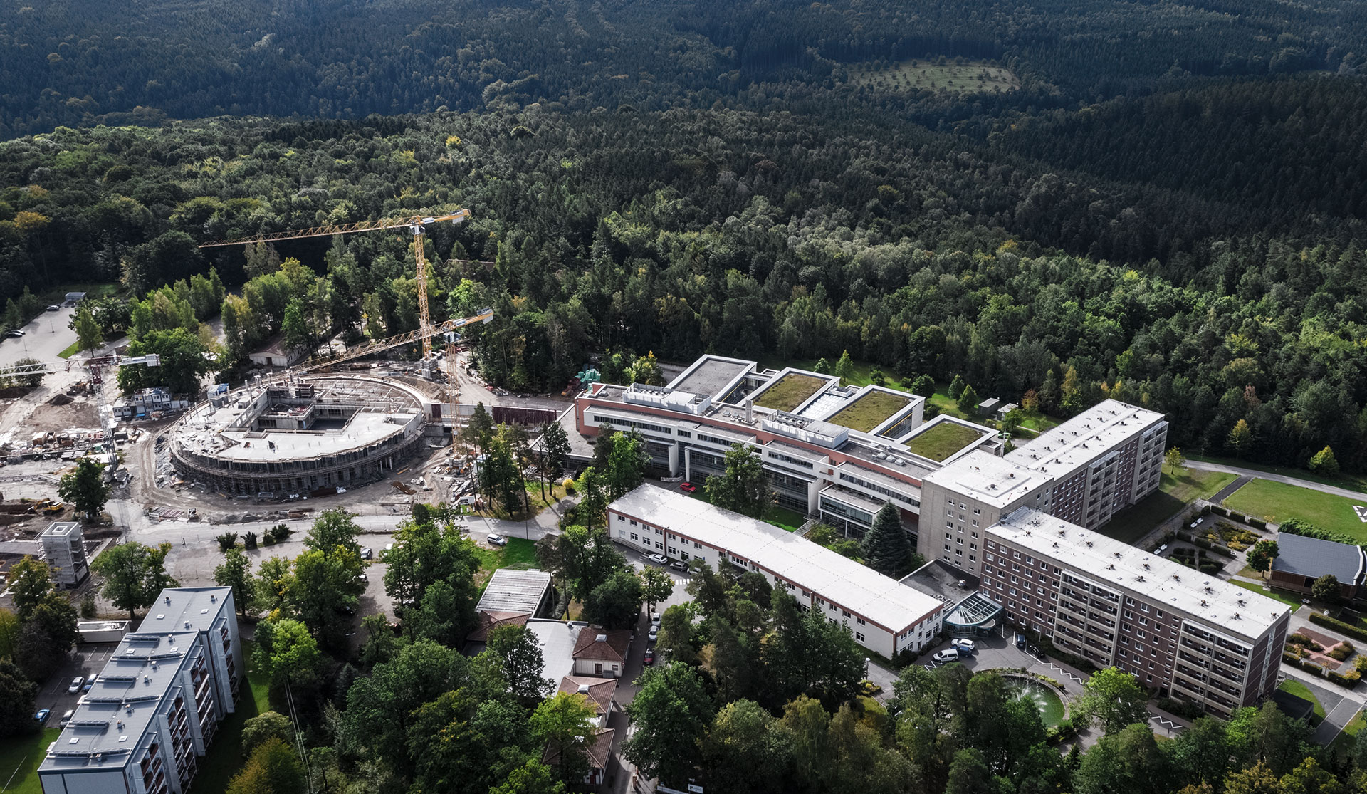 Hospital - Eisenberg (DE), June 2018 - Opening 2019