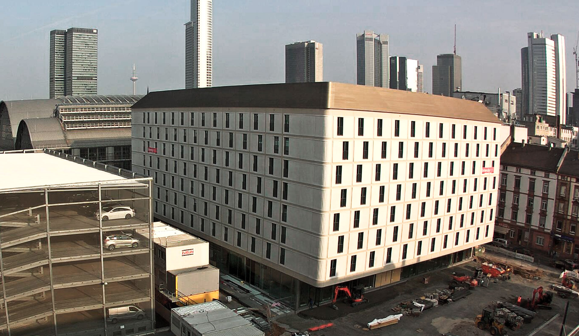Intercity Hotel - Frankfurt (DE), November 2018 - Opening 2018