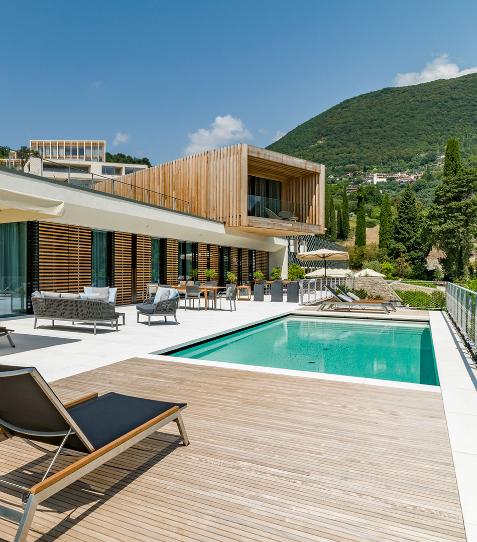 Le Finestre, Lake villas - Gardone (IT)