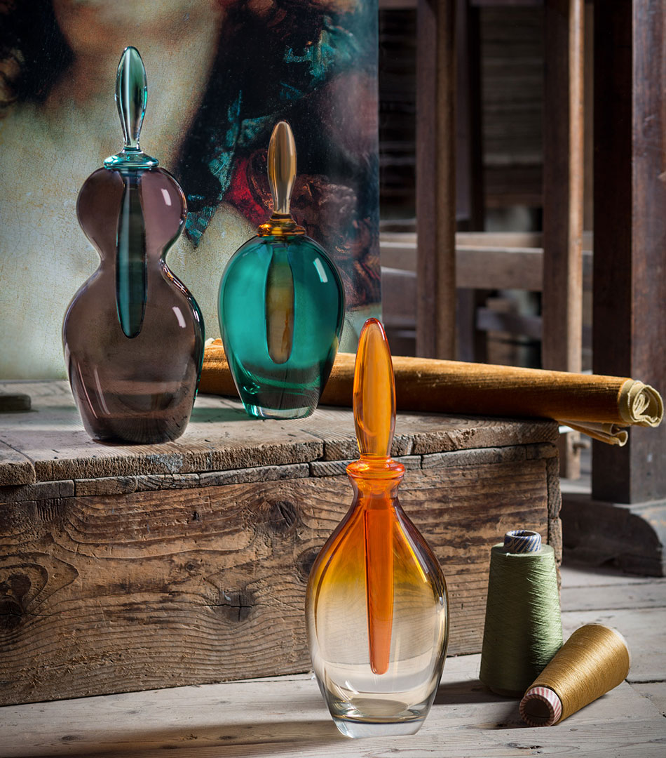 Tiepolo Bottles, for Matteo Thun Atelier